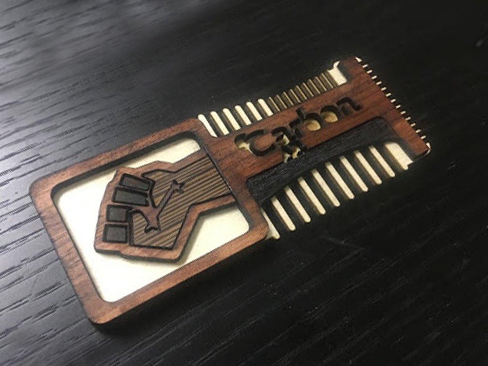 Nguvu Beard Comb $15+Shipping