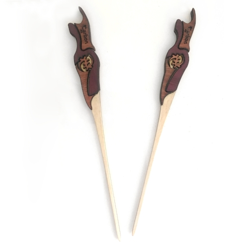 Mwundo Hair Sticks $30(1)/$55(2) + Shipping