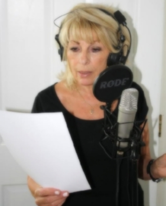 - Language:  English - BritishRecording Purpose:  Commercials, Audiobooks, Documentaries, TV shows and movies, Podcasts, Songs, Others (on-camera, infomercials, live announcers, spokespersons)                                      Voice genders: Middle Age Female