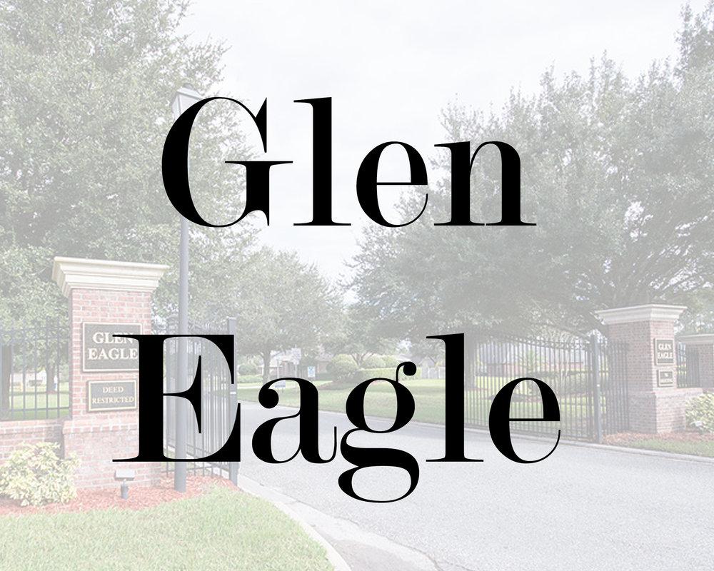 Glen Eagle development in Duval County