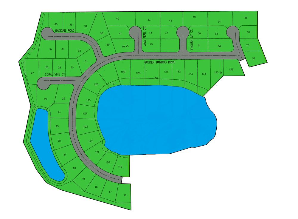 Trout River Bluff site plan