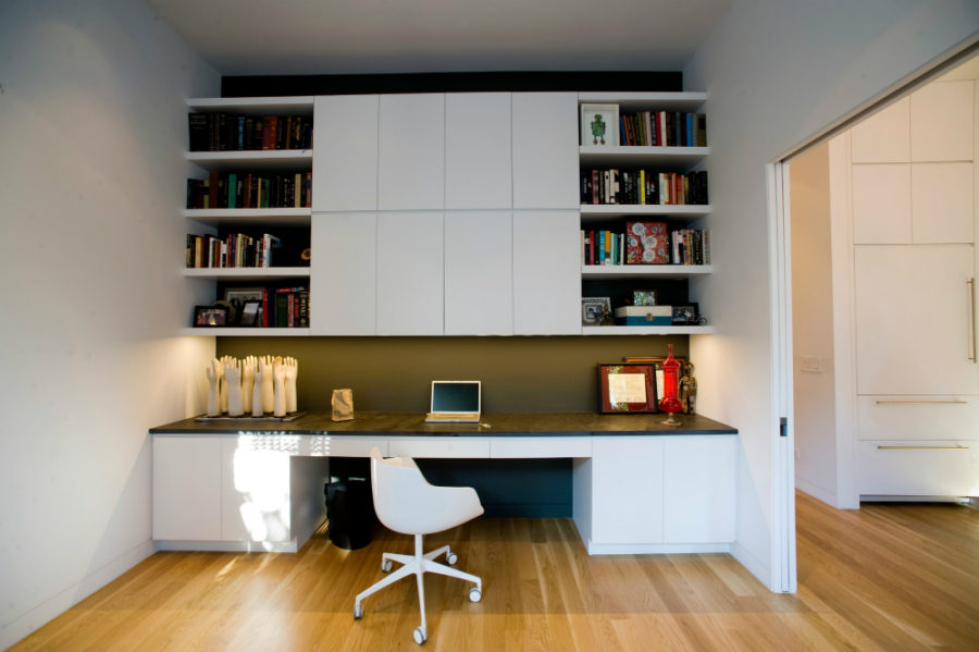 Built In Home Office Storage 900x599