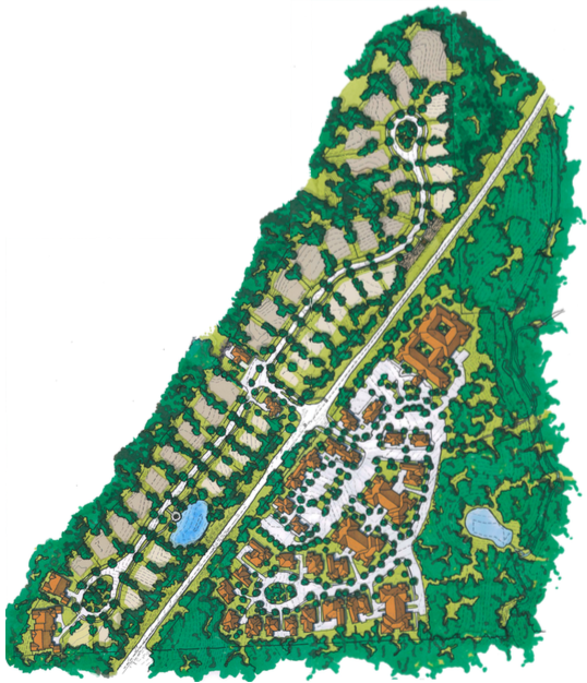 Brow Wood site plan