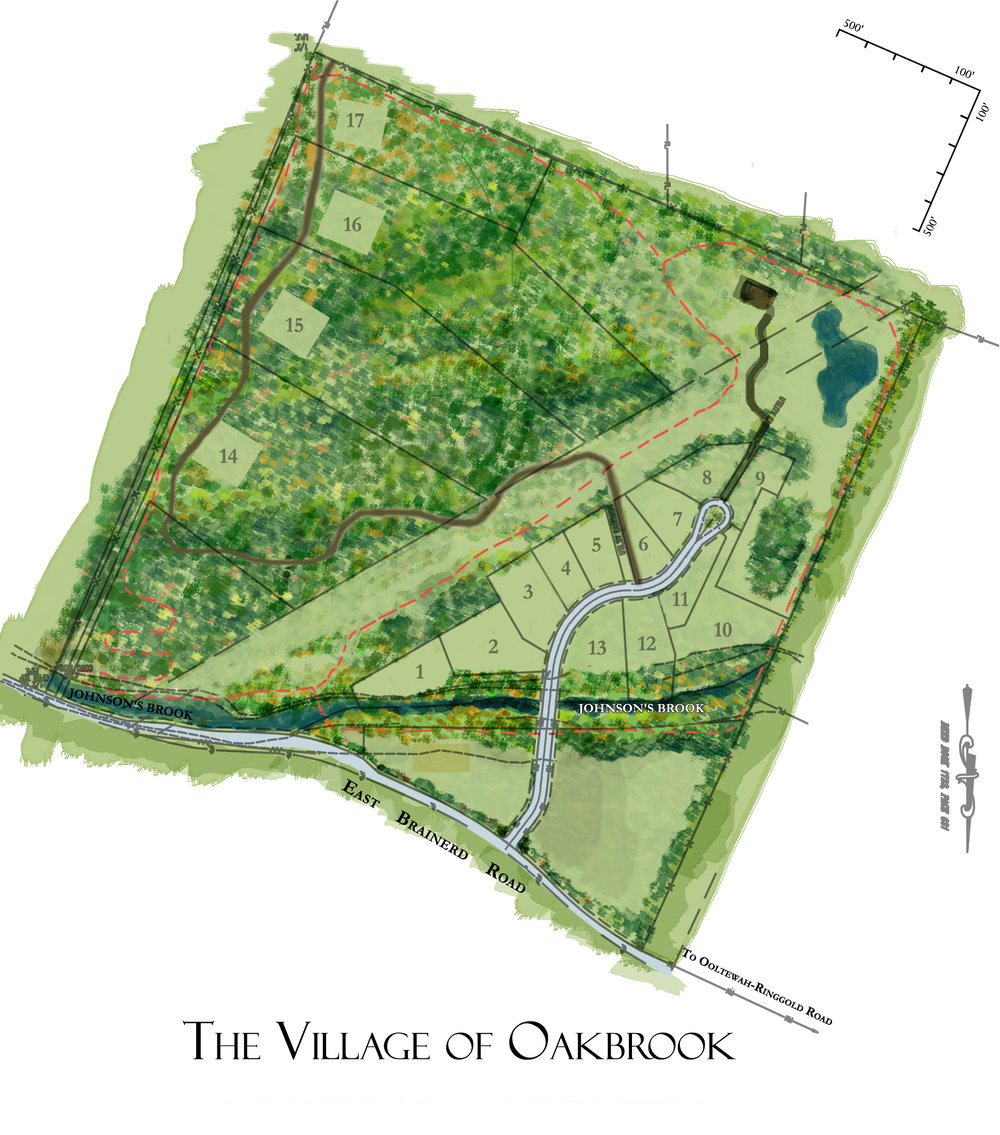 Oak Brook site plan