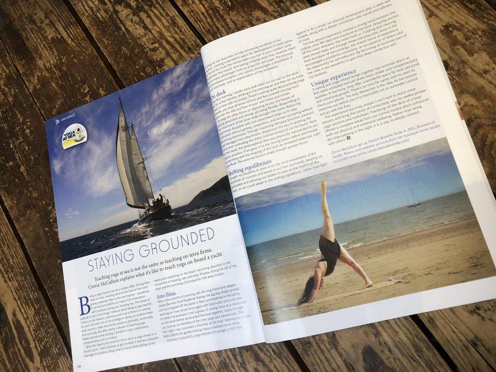 OM Yoga Magazine  - August 2017
