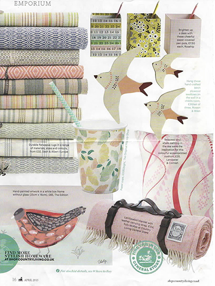 Country Living Magazine - April 2015