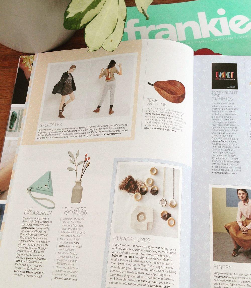 Frankie Magazine - August 2015