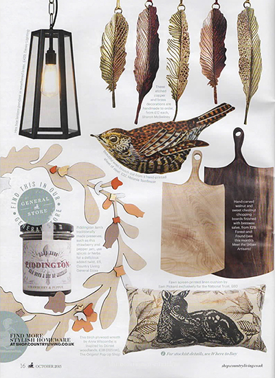 Country Living Magazine - October 2015