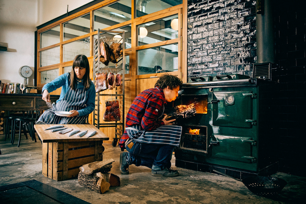 rooftop smokehouse smoked food artisanal seasonal food private dining barcelona