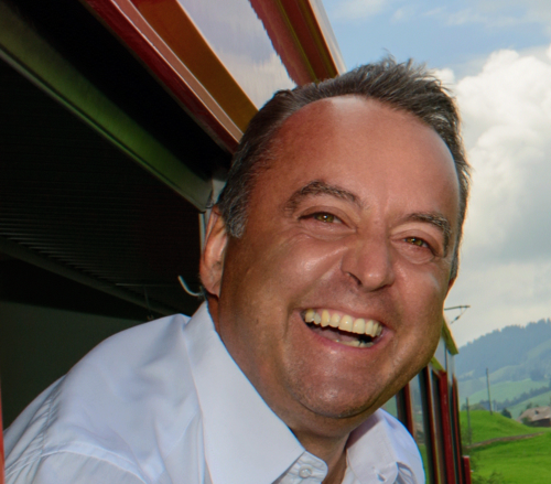 Maurus Lauber, CEO, Swiss Travel System