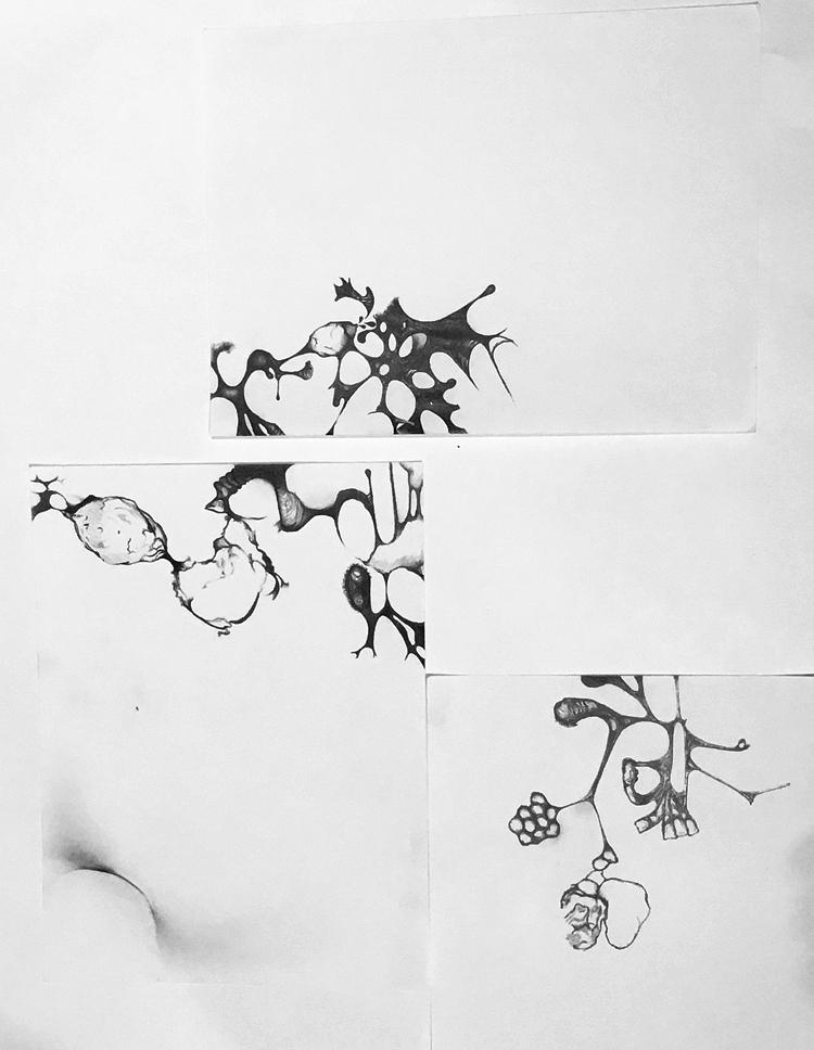 Composition -Figure Studies 8, 7, 9