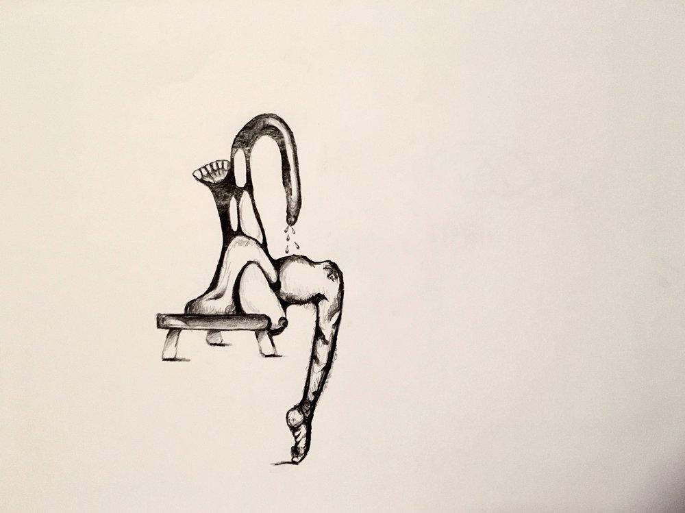 Figure Study 16