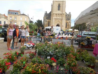 Flower markets Les Galineaux