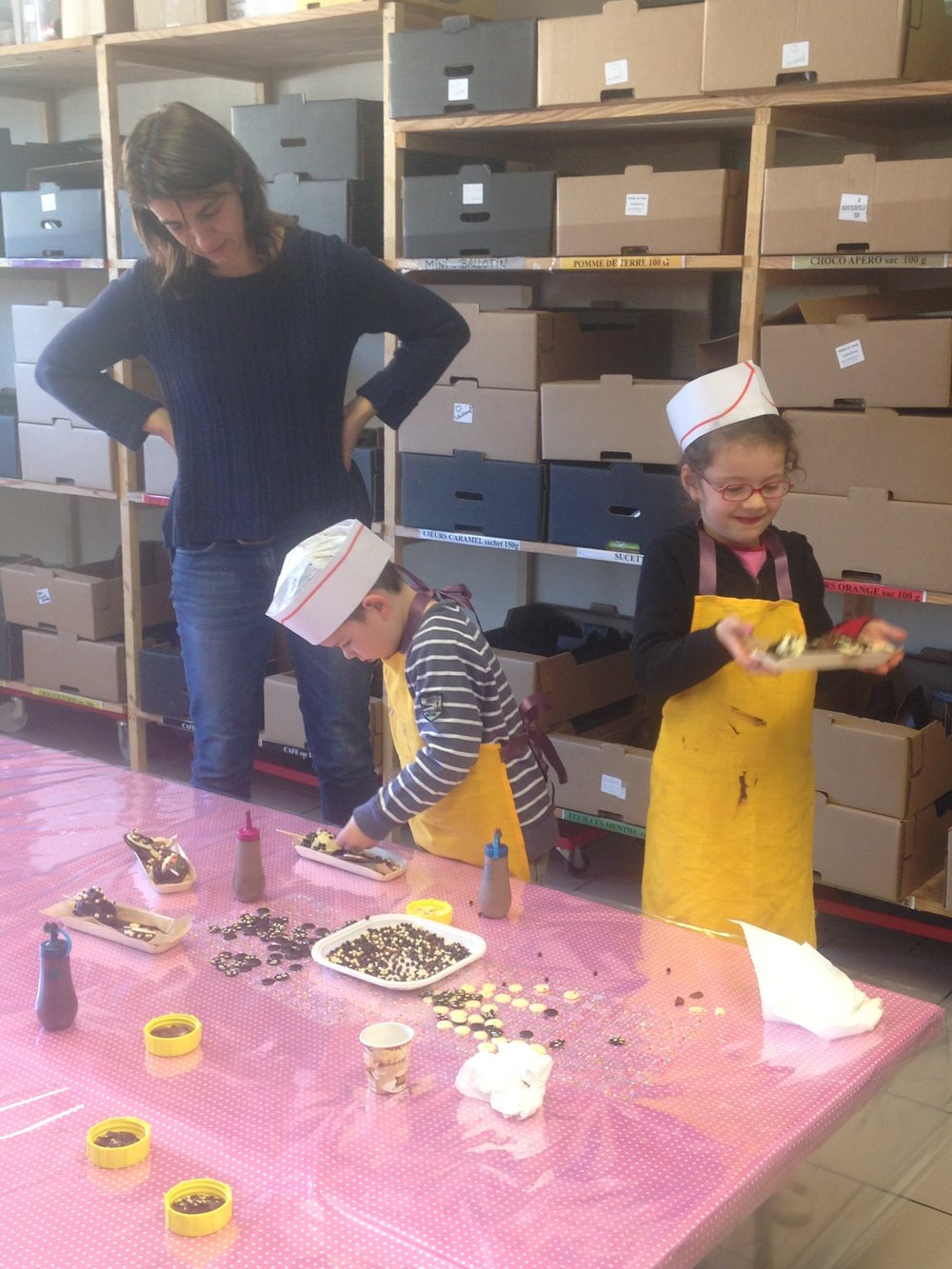 Child cooking courses France