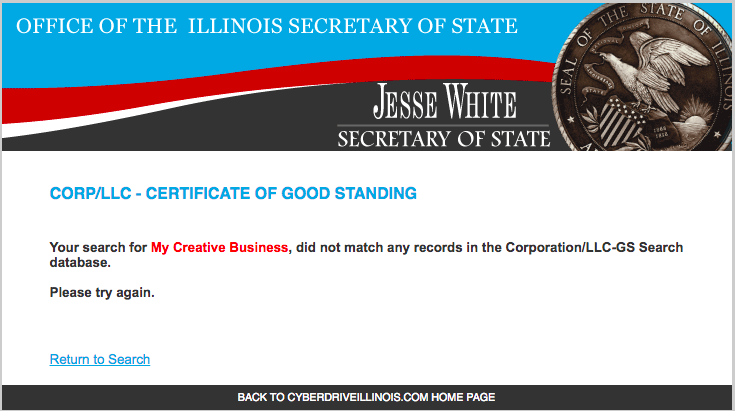 If you're starting a business in Illinois, this is what you want to see!