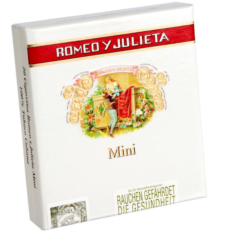 Minis  Romeo Y Julieta MM CP 20'S
