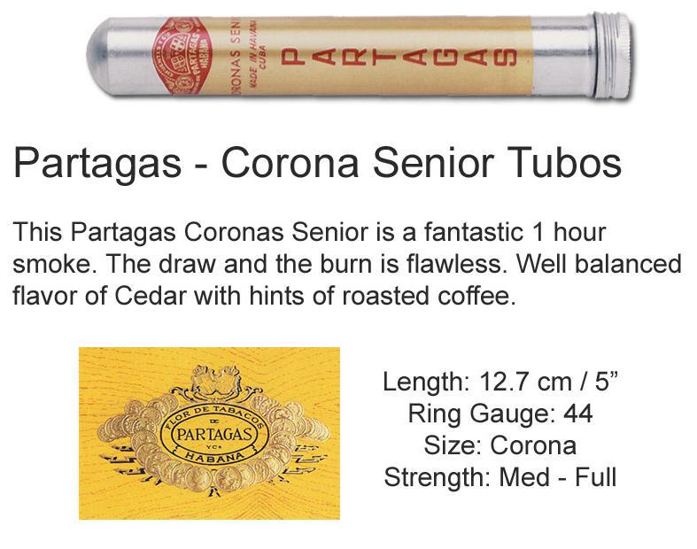 Partagas Coronas Senior