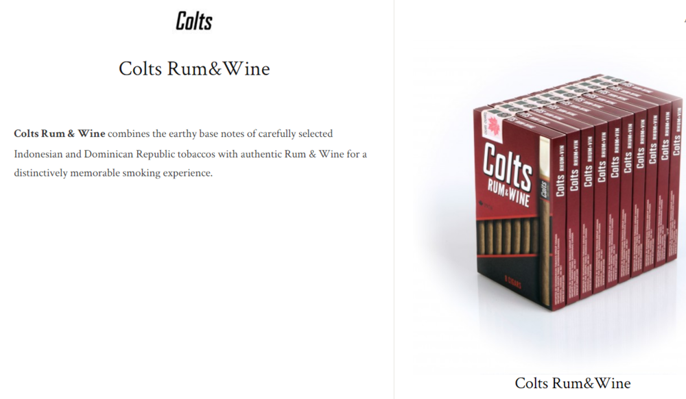 Colts Rum&wine $8.41+ (package of 8)
