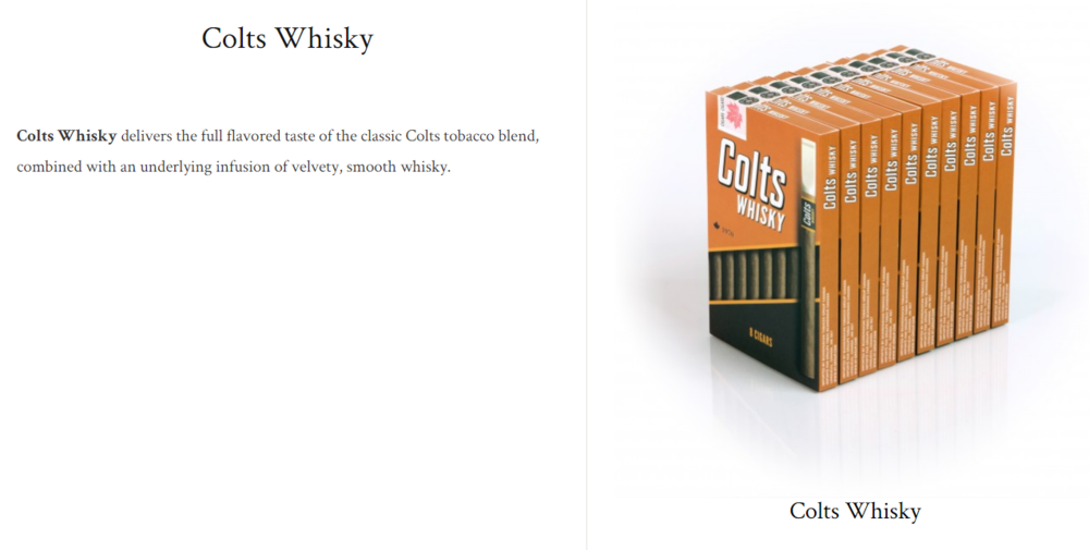 Colts Whisky $8.41+ (package of 8)