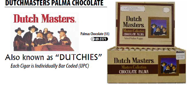 Dutch Master Chocolate