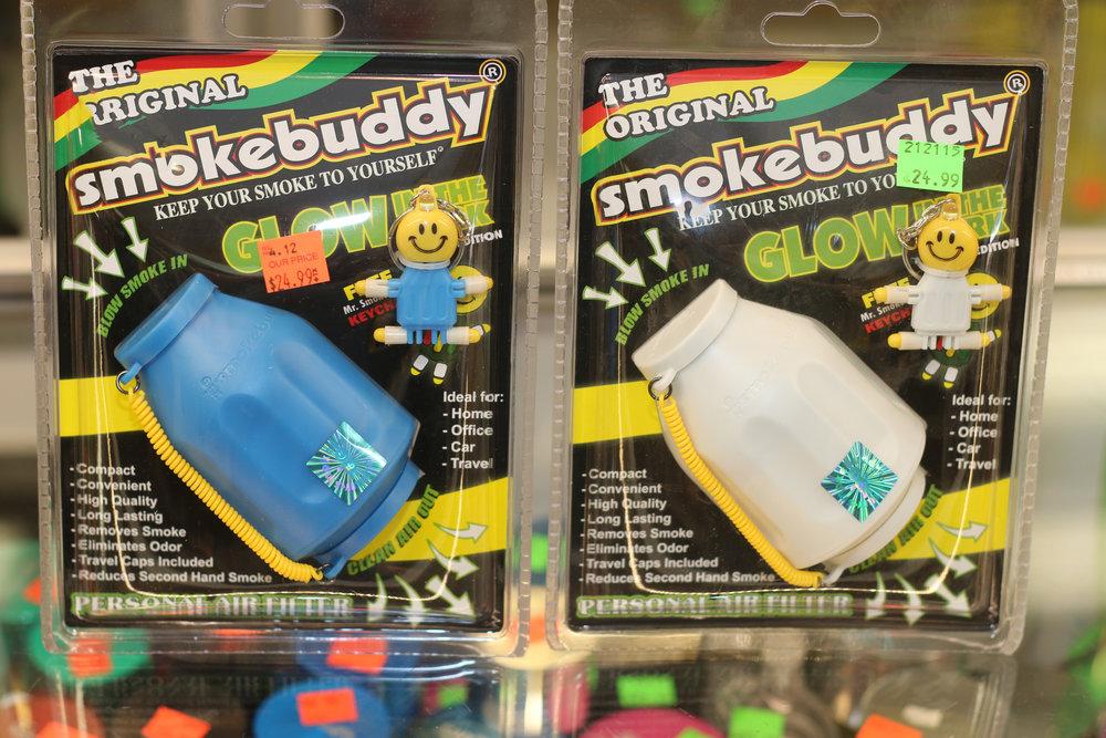 Reg size of Smokebuddy