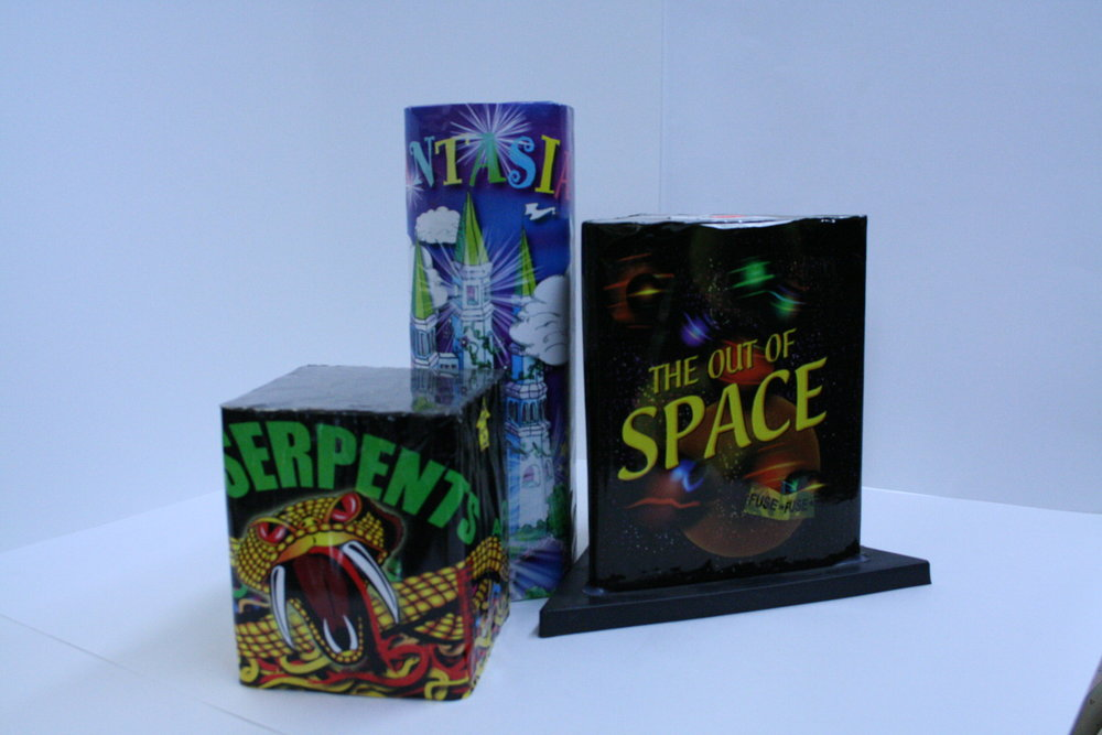 We carry Fireworks everyday; we carry Roman Candles, Sparklers; Noise Makers; Multi-shot Cakes & Fanned cakes