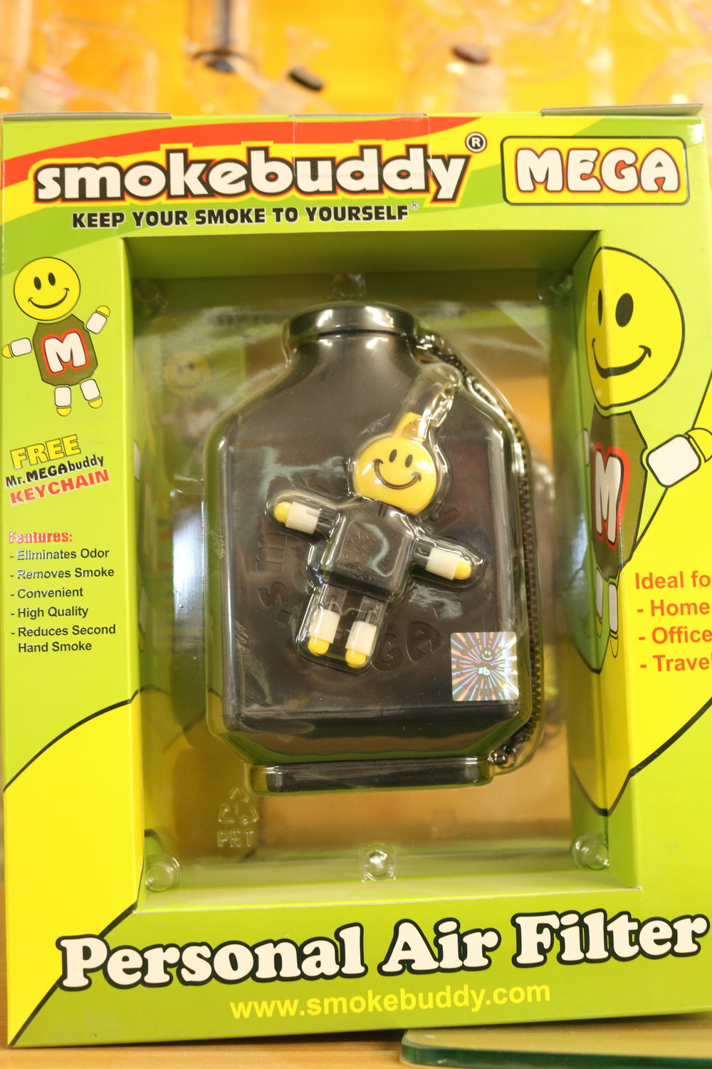 Mega Size of Smokebuddy (black and white available)
