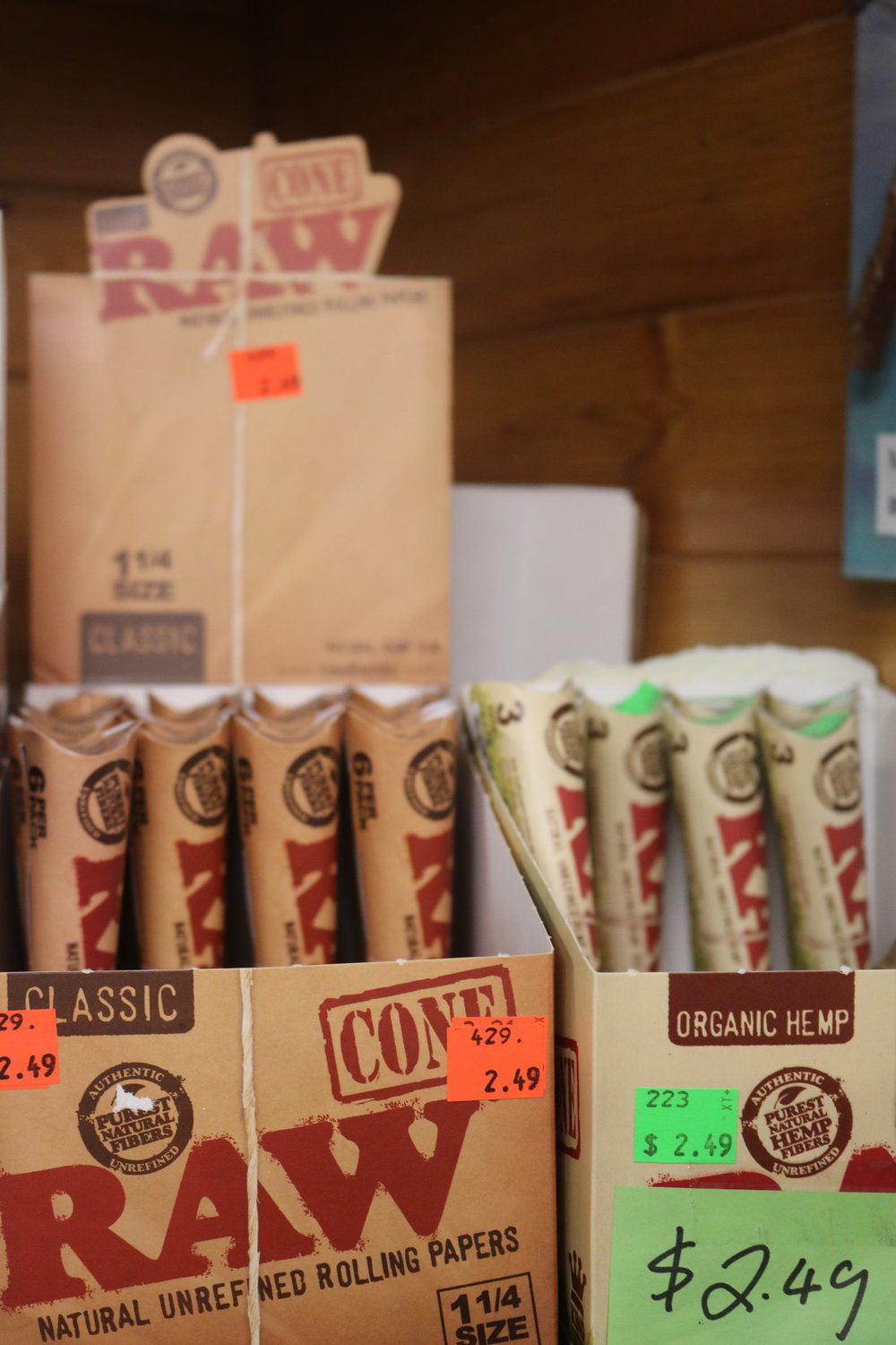 RAW® PRE-ROLLED CONE 6 / PACK 1¼