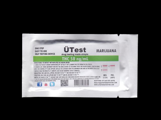 UTEST THC 50 NG/ML