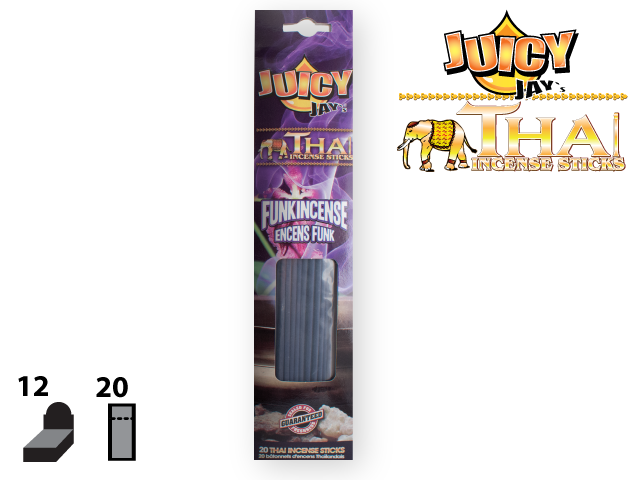 JUICY JAY'S® THAI INCENSE STICKS – FUNKINCENSE