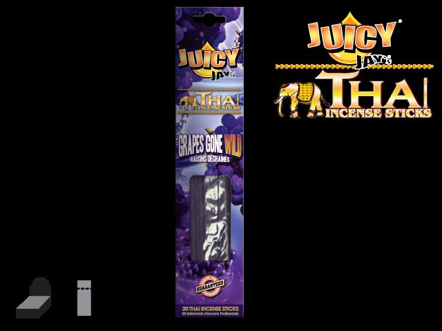 JUICY JAY'S® THAI INCENSE STICKS – GRAPES GONE WILD