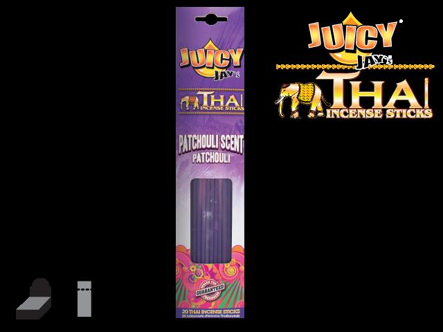 JUICY JAY'S® THAI INCENSE STICKS – PATCHOULI