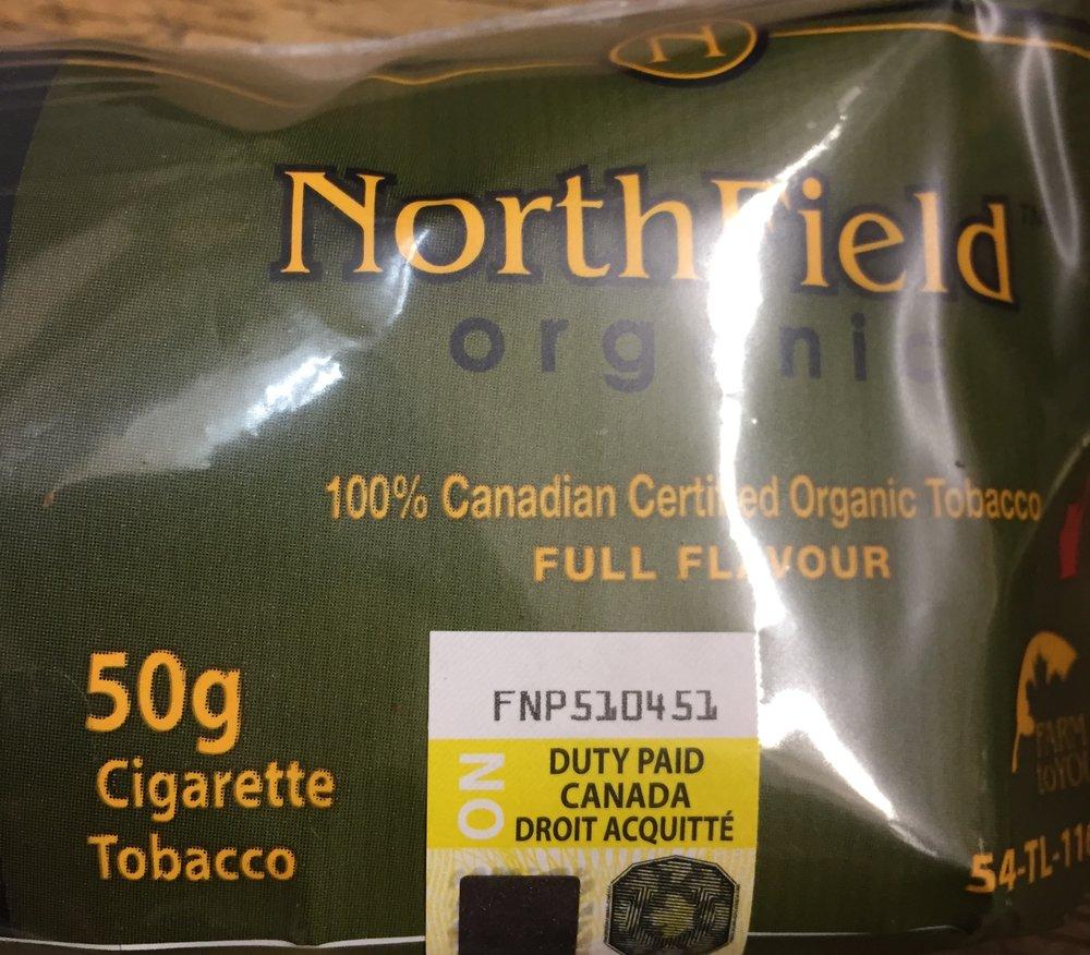 Northfield Organic tobacco 50g $31.86+
