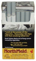 NorthField Mellow (yellow)-Premium all Canadian naturally aged tobacco&With no additives