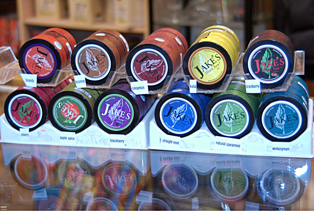 Did you know that we have a huge selection of chewing tobacco alternatives? For those folks trying to Quitdip, we have lots of flavors of herbal chew that may help! @JakesMintChew 100% tobacco free chew which Made with organic mint leaves and flavorings, great product to try to quit dip with !