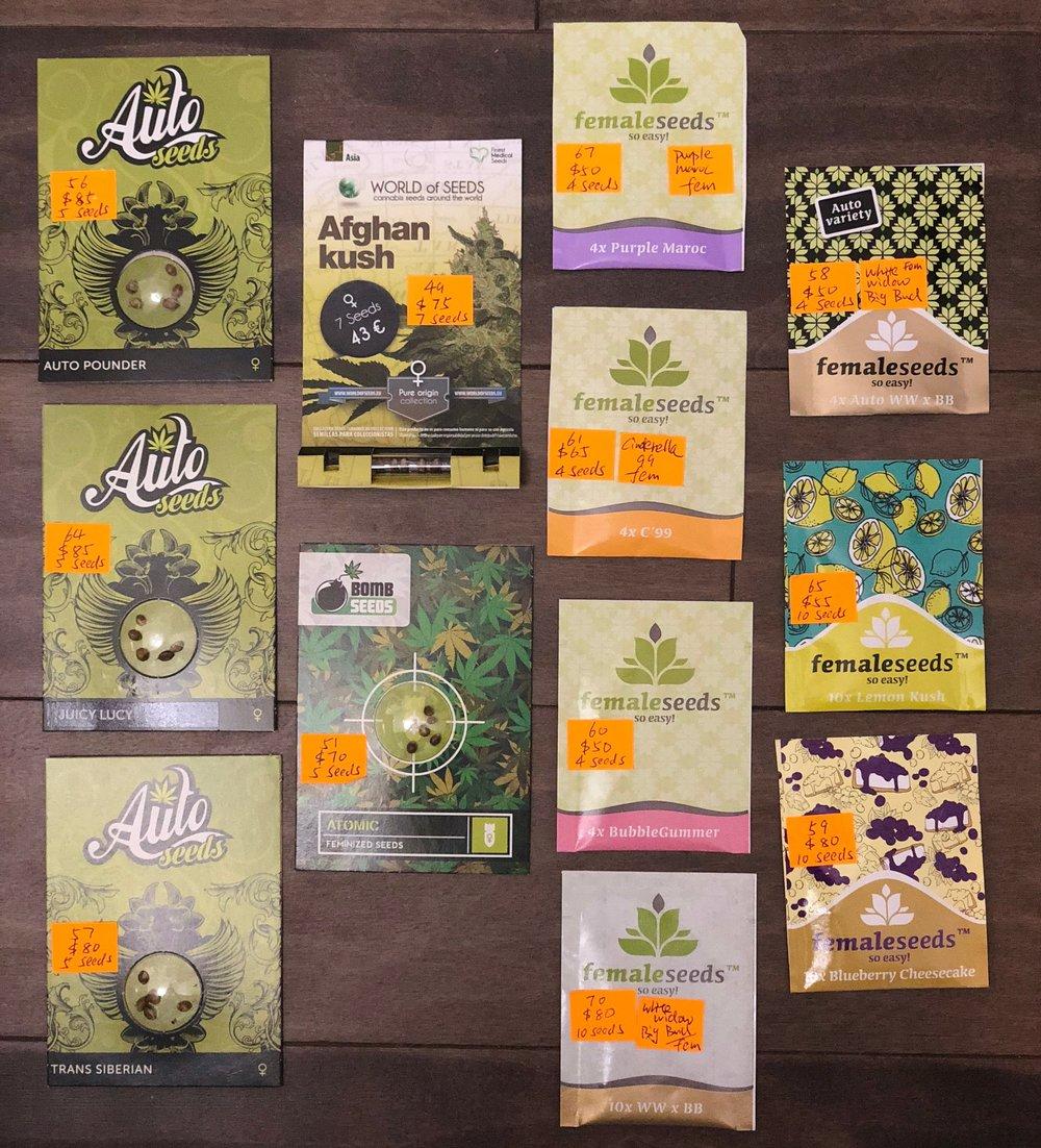 Auto Seeds, World of Seeds, Bomb Seeds, Femaleseeds