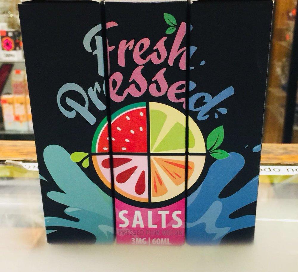 Presh Pressed (Malibu Meltdown; Pink Parfzit; Sparkling Starfruit; Salts Fruit Finale; Pink Melonl Sugar Tantrum)