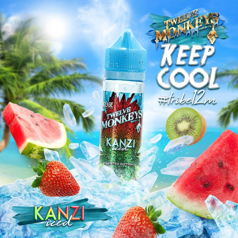 Our award-winning watermelon �, strawberry �and kiwi �blend, now on ice