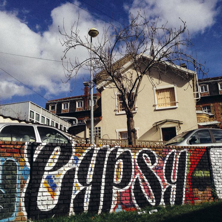 Tag by Gypsy One in Paris France