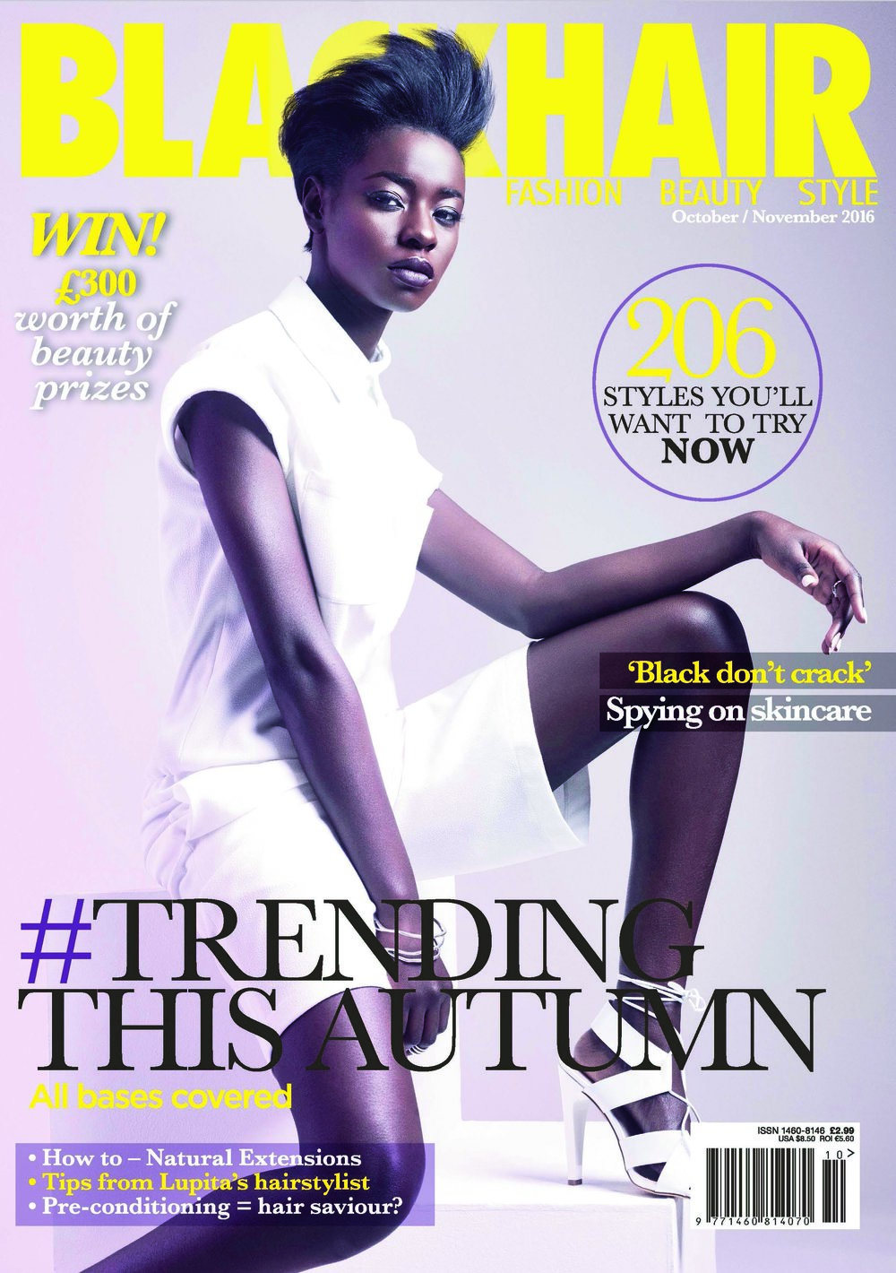 fc27792305 Transient Collection BLACKHAIR Magazine Cover