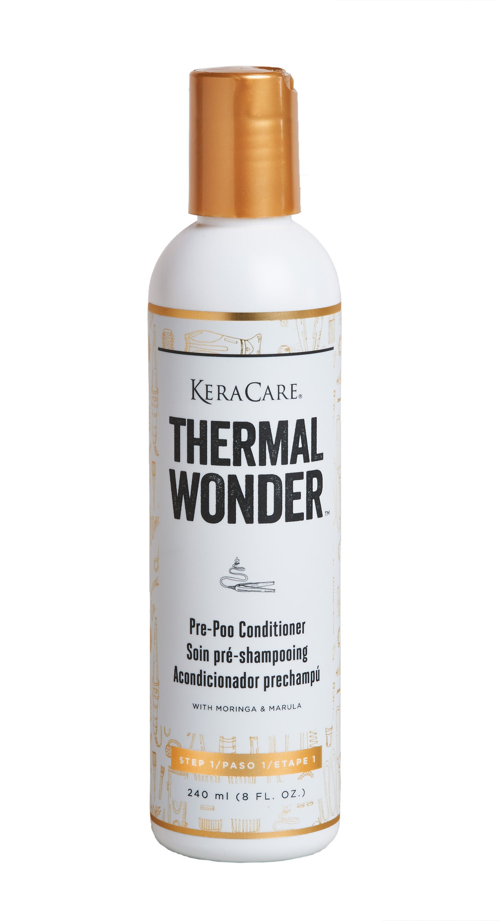 Thermal Wonder ™ Cream Cleansing Shampoo