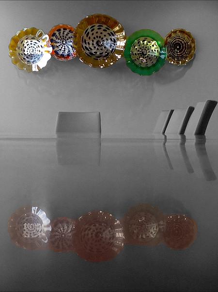 Commercial Wall Platter Installation