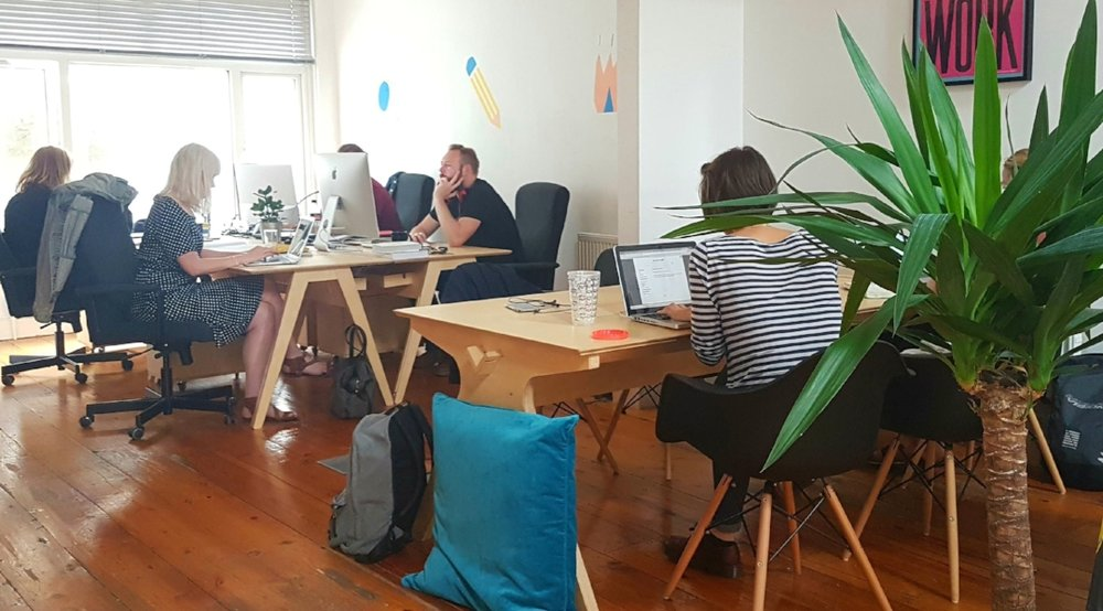 Rabble Studio co-working members Cardiff