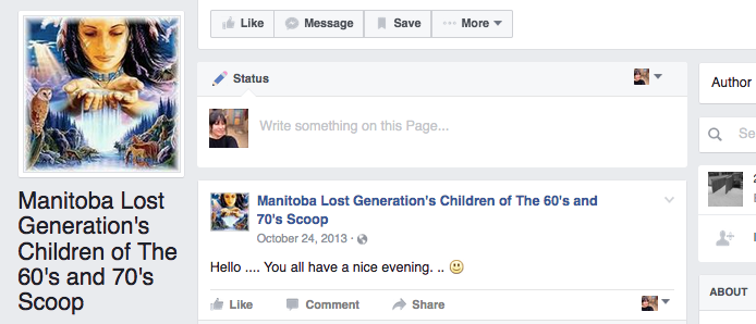 Manitoba Lost Generations -
