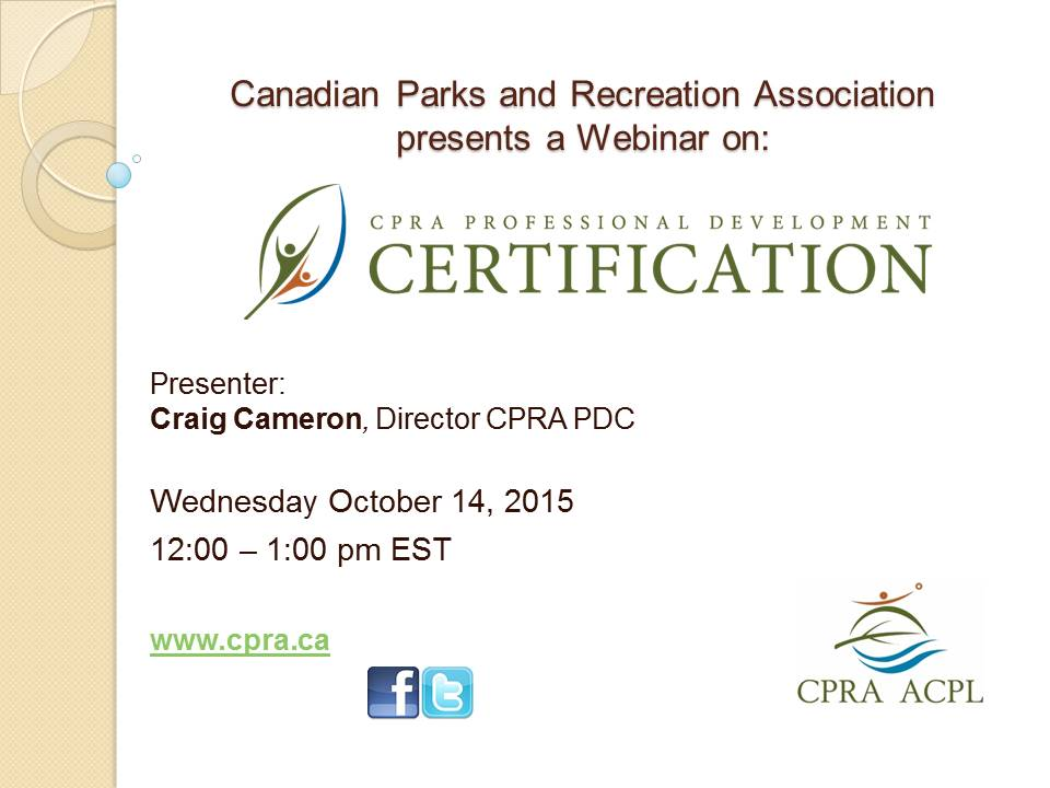 Cpra Professional Development Certification Cpra Acpl