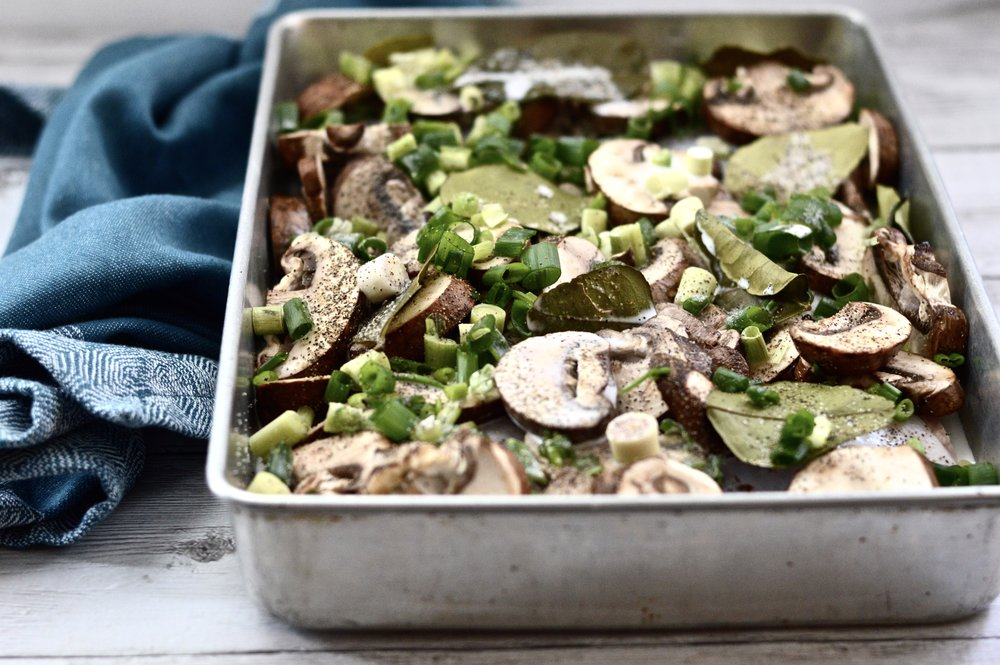 Coconut Mushroom Chicken (Paleo, Whole 30, GAPS, SCD, Gluten Free)