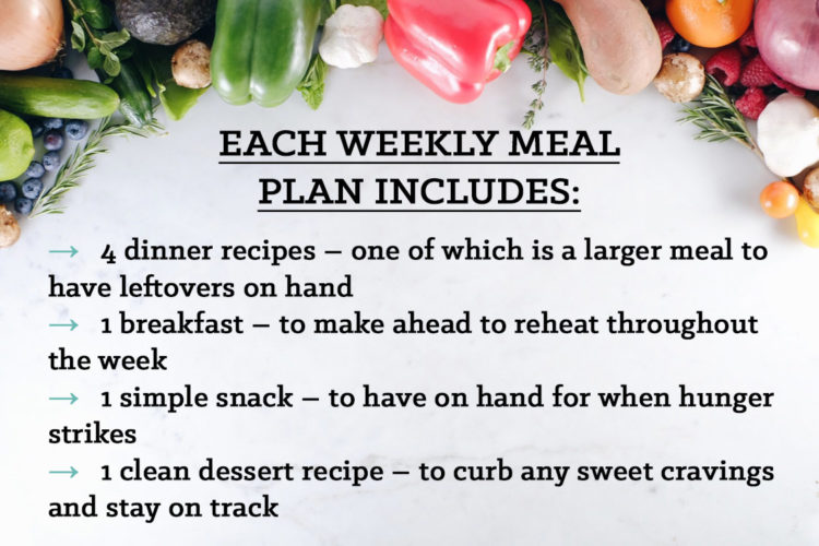 EASY TO FOLLOW PALEO MEAL Plans With So Much Included To Help You Succeed