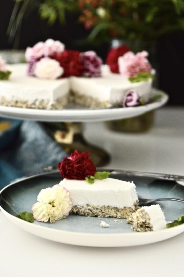Paleo Vanilla Mint Ice Cream Cake (Vegan, SCD, GAPS, No Refined Sugar)