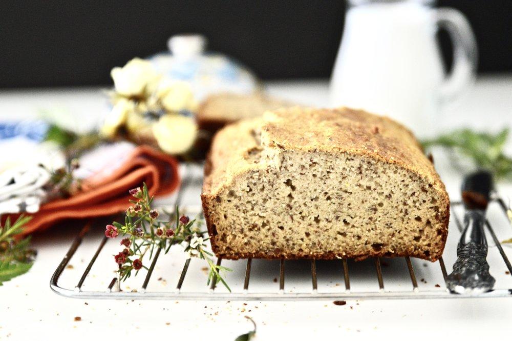 Paleo Bread (Nut Free, Grain Free, Gluten Free, Dairy Free)