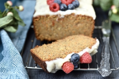 Paleo Carrot Cake Banana Bread